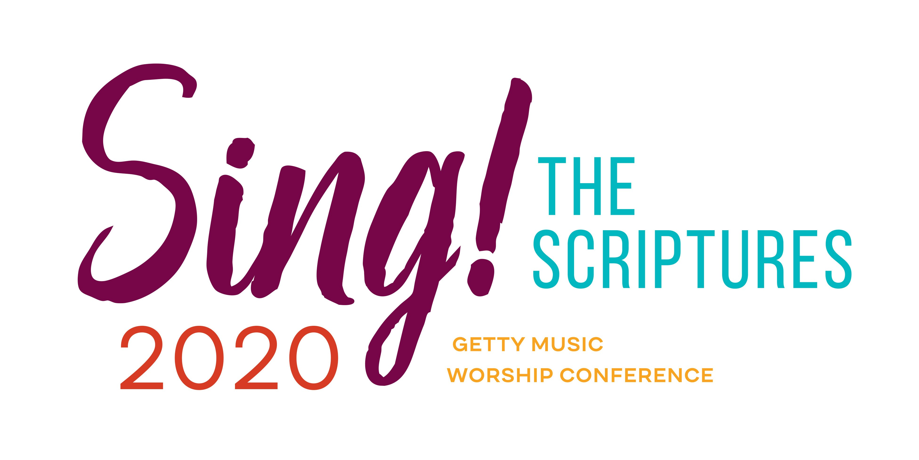 Home - Sing! 2020 · Getty Music Worship Conference