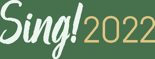 Sing! 2022 logo